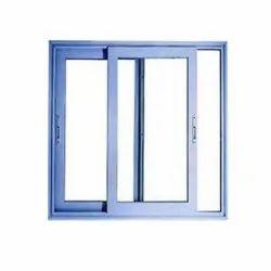 Powder Coated Aluminium Sliding Window, for Office