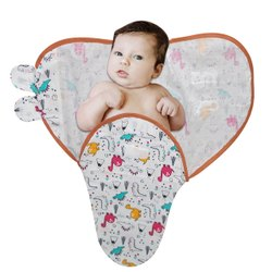 Baby Swaddle Wrap Blanket Made In Cotton Fabric