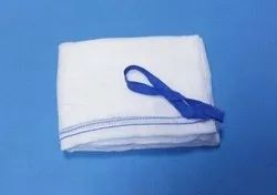 Cotton Surgical Mopping Abdominal Pad, For Hospital, Packaging Size: Packet