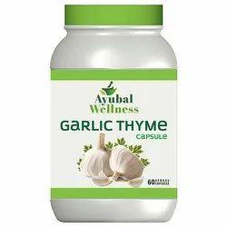 Ayubal Wellness Garlic Thyme Capsule, 60 Cap, Non prescription