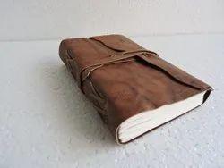 Half Flap Vintage Leather Bound Journal