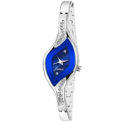 Jainx Blue Oval Analog Watch for Women & Girls JW613