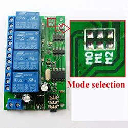 Mobile (DTMF) Remote Motor