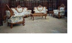 Aarsun Wooden Designer Sofa Set
