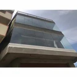 Plain Exterior Glass, Thickness: 12 mm, for Office