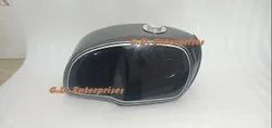 Bmw R100 Rt Rs R90 R80 R75 Steel Black And Gray Painted Gas Fuel Tank Guaranted Ps