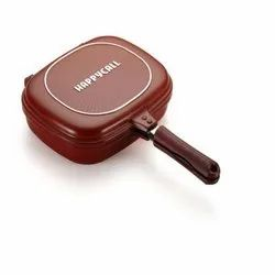 Red Happy Call Grill Pan