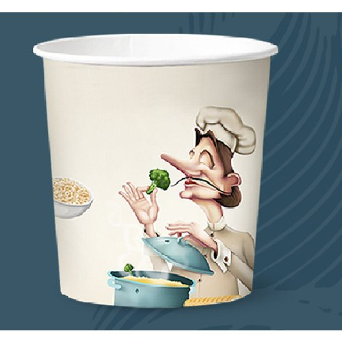 750 Ml Continental Paper Food Container