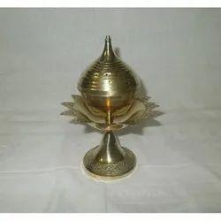 Lotus Brass Agarbatti Stand