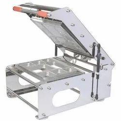 IP SS BODY Thali Sealing Machine, 220 V
