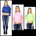 A2 Designs Llp Women/girls Cropped Sweatshirts, Size: L