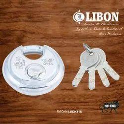 Disk Pad Lock