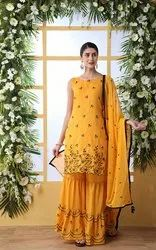 Pr Fashion Launched Festive Season Designer Sharara Suit