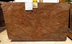indian Slab Rainforest Brown Marbles, Thickness: 20mm And 30mm, Size: 240-320x 120-180cm And Up