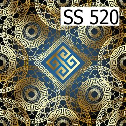 SS-520 Printed Shirt Fabric