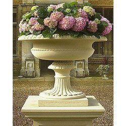 Marble and Stone Flower Pot