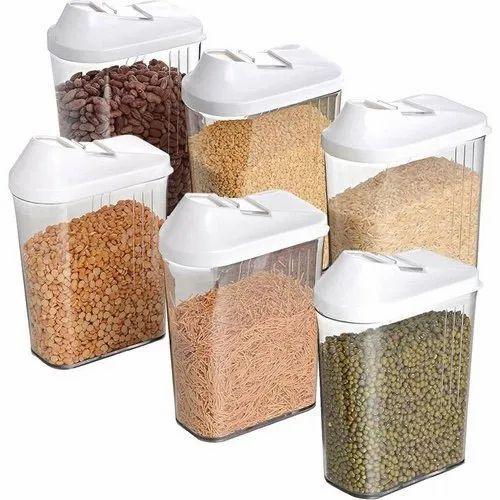 Kitch Cut Rectangular Airtight Food, Airtight Food Storage Container