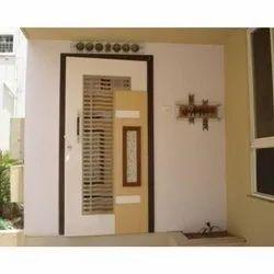 Wood Swing Wooden Color Designer Safety Door