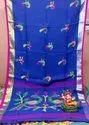 Linen Handwoven Jamdani Saree