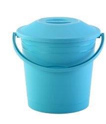 Plastic Buckets With Lid Frosty 18 Ltr