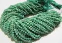 Natural Amazonite Faceted Round Beads 3-4mm Strand 13 Inches ,