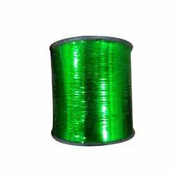 Dyed Green Polyester Zari Thread
