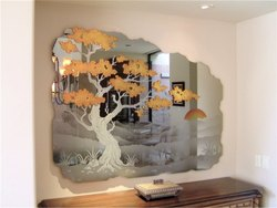 Saintgobain Natural Designer Mirror Glass