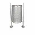 Road Side Steel Dustbin