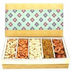 5 Part Print Dry Fruit Box