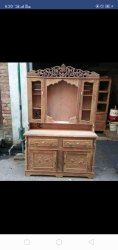Mysoor Art Brown Antique Wooden Table