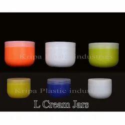 L Cream Jars