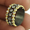 925 Sterling Silver Diamond Ring