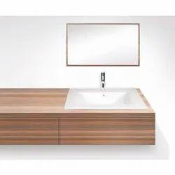 Square Table Top Ceramic Wash Basin