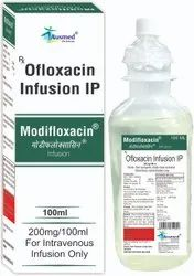 Ofloxacin IP 200 Mg. Sodium Chloride IP 0.9%W/V Water For Injection IP Q.S