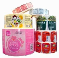 Cosmetics Sticker Labels