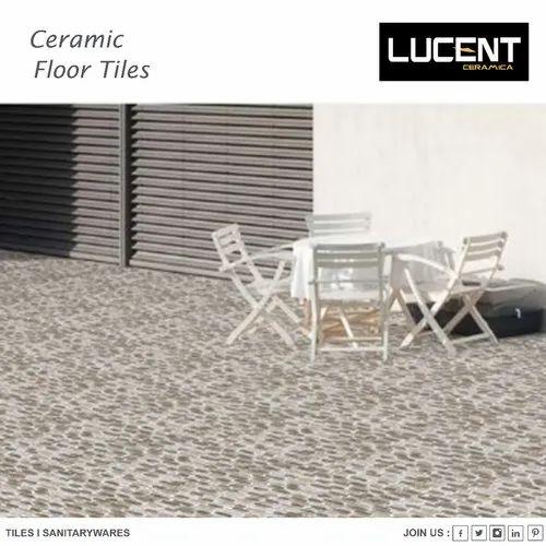 Lucent Ceramic Floor Tiles, Packaging Type: Box