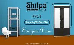 SHILPA Multicolor Two Door Metal Almirah - Sangam Deon