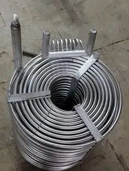 SS Cooling Coil, For Industrial
