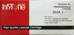 202A Y (CF 502A) Compatible Colour Toner Cartridge For HP Printers