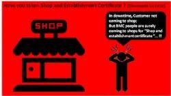 Shop Establishment Certificate