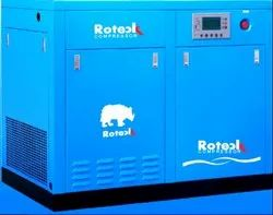 Screw Air Compressor Direct Driven 10 Hp To 180 Hp, 38 CFM To 1000 CFM