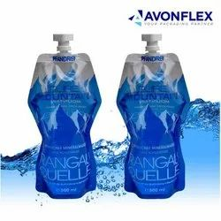 Plastic Water Pouches Packaging