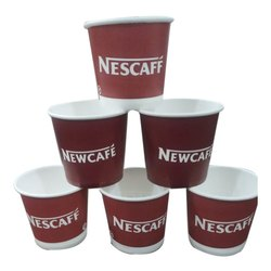 100 mL Printed Paper Coffee Cup for Event and Party Supplies