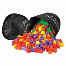Interlocking Cubes - Math Kit