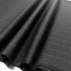 Cotton/Linen Black Housekeeping Uniform Fabric, Packaging Type: Roll, GSM: 100-150 GSM