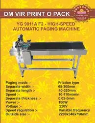 YG 9011A F2- High-Speed Automatic Paging Machine