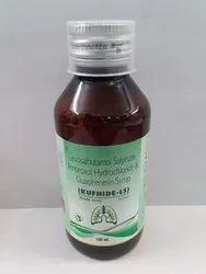 Ambroxol HCL 30 Mg Levosalbutamol 1mg Guaiphenesin 50 Mg (Sugar Free)