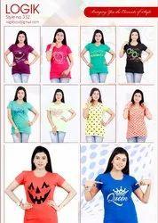 10 Colour Cotton Ladies Top