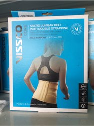 Sacro Lumbar Support With Double Strapping