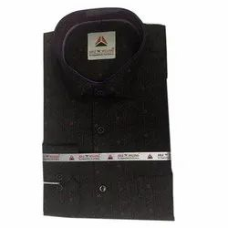 Cotton Party Wear Mens Polo Neck Designer Shirt, Packaging Type: Packet